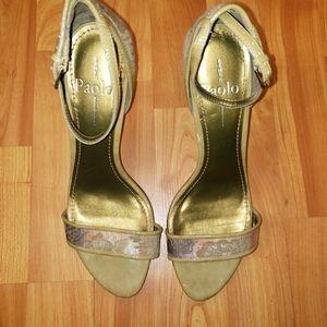 Linea Paolo High Heel Sandals 8.5